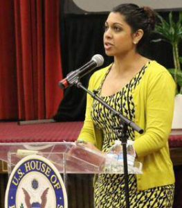 Maheen Kaleem, staff attorney for Rights 4 Girls. Photo: Rights 4 Girls