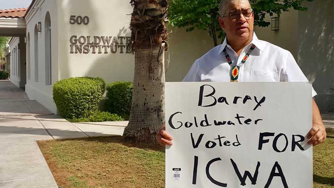 Barry Goldwater Voted Yes on ICWA Photo Courtesy @DefendICWA