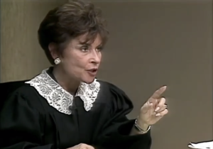Judge Judy Sheindlin New York Savino Family Court